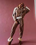 Костюм женский вязанный капучино, фото 2