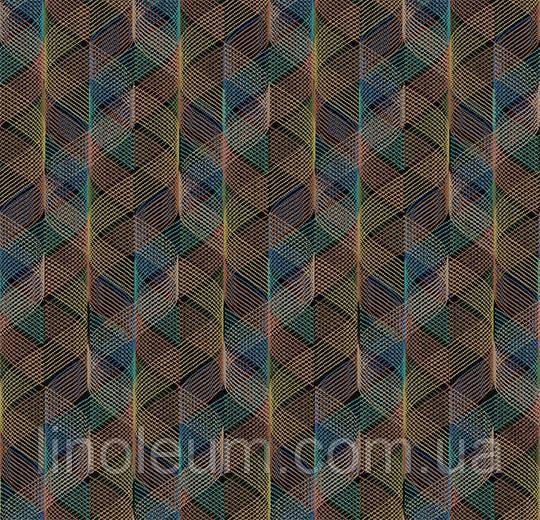 Ковролін флокіроване покриття Flotex vision pattern 730005 Helix Amazon