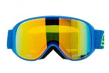 Маска гірськолижна Salice 100 Blue - Yellow, фото 2