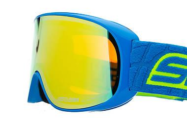 Маска гірськолижна Salice 100 Blue - Yellow, фото 3