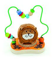 Іграшка з дерева Світ Дерев'яних Іграшок Лабіринт Левеня (Д386)