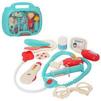 Набор доктора в голубом чемодане 660-64-66 игрушки для детей