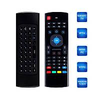 Беспроводная клавиатура, мини пульт (аэро-мышь) для Smart TV, AIR MOUSE MX3