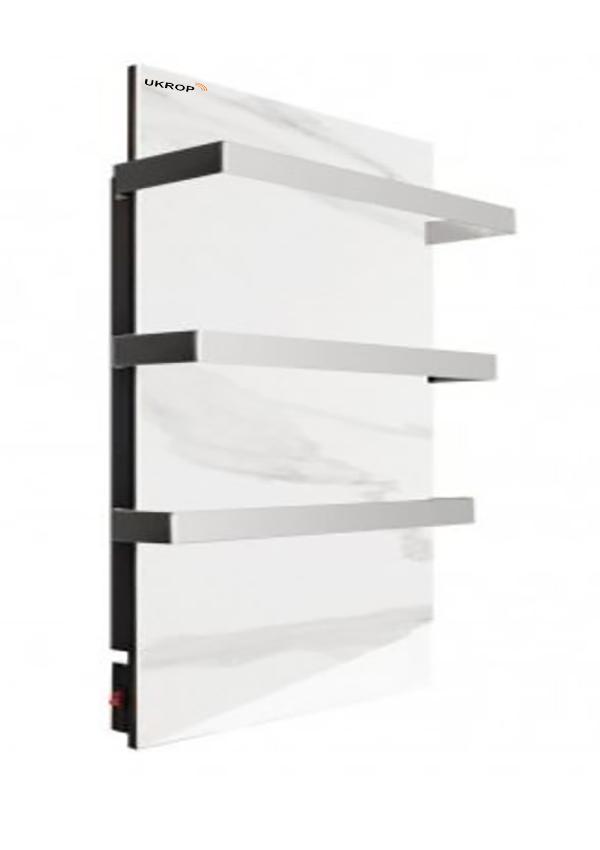Керамический полотенцесушитель с терморегулятором УКРОП СК500ВТ Макси - Мрамор