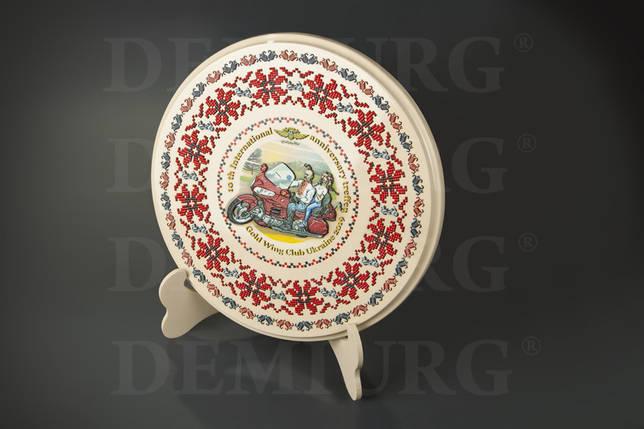 Декоративная тарелка на подставке., фото 2
