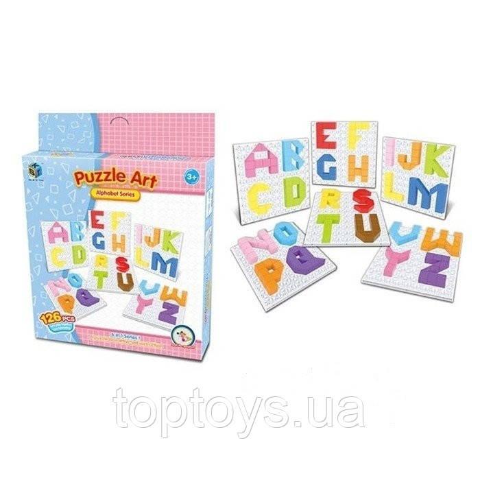 Пазл Same Toy Puzzle Art Alphabet series 126 деталей (5990-3Ut)
