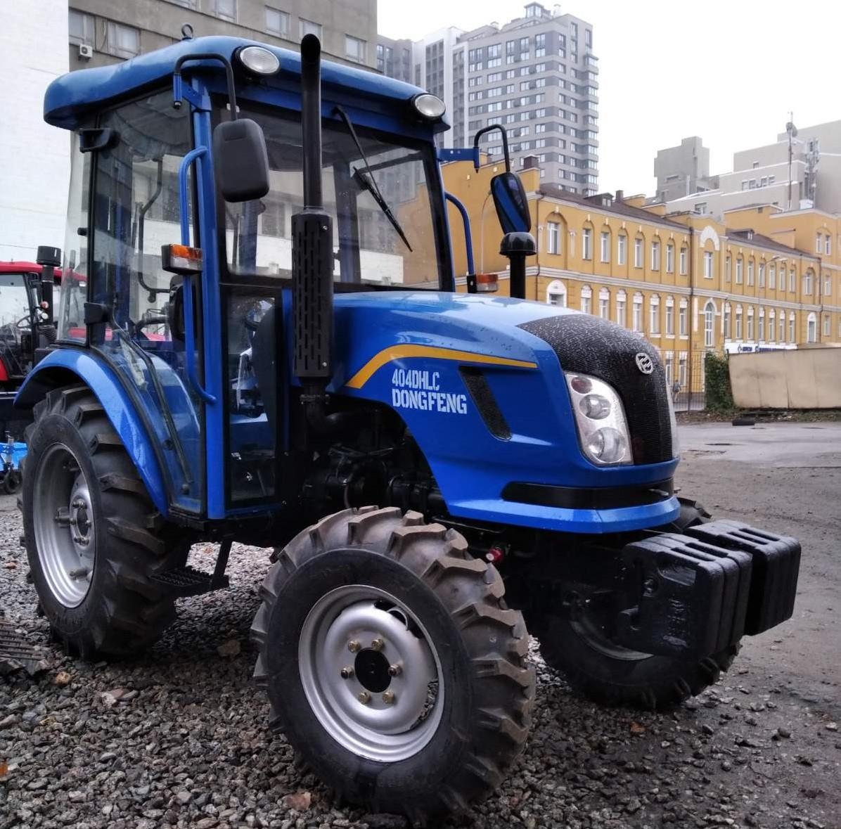 Трактор с кабиной DongFeng 404DHLC