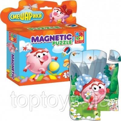 Магнітні пазли Vladi Toys Смішарики (VT1504-28)