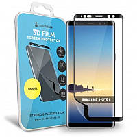 Защитная пленка MakeFuture для Samsung Galaxy Note8 SM-N950 Black, 3D (MF3D-SN8B)