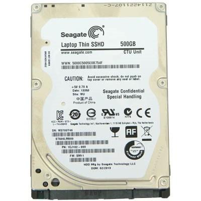 "Накопитель HDD 2.5"" SATA 500GB Seagate Laptop Thin SSHD 64MB 5400rpm (ST500LM000) Восстановленный"