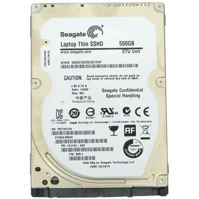 "Накопитель HDD 2.5"" SATA 500GB Seagate Laptop Thin SSHD 64MB 5400rpm (ST500LM000) Восстановленный, фото 2"