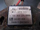 Вентилятор основного радиатора для Opel Astra G Zafira A, 24431829, 90570745, 0130303275, 0130303248, фото 3