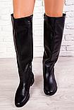 Жіночі шкіряні ботфорти Sollorini, фото 3
