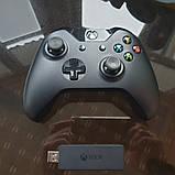 Джойстик XBOX ONE + ресивер для ПК беспроводной, фото 5