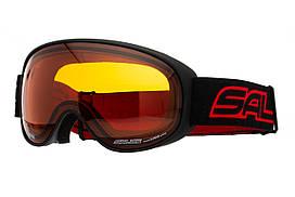 Маска гірськолижна Salice 101 Sonar Black - Red
