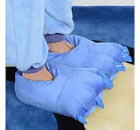 Домашние тапочки кигуруми Лапы Синие