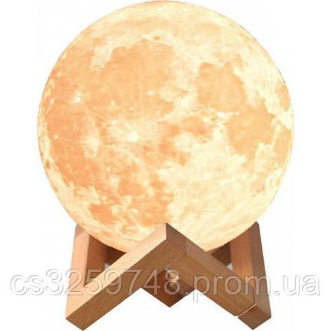 Светильник ночник 3D Луна UTM, фото 2