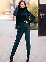 Женский повседневный костюм из вельвета