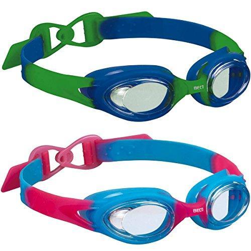 Окуляры для плавания детские Beco Accra 9950 4+ (Синие, розовые)