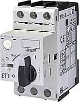 Автоматический выключатель 6.3А-10А ETI MPE25-10 для защиты двигателей 4648010