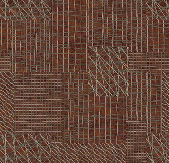 Ковролін флокіроване покриття Flotex vision pattern 560002 Network Rust