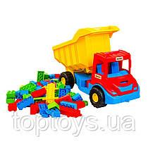 Машинка Wader Multi truck Вантажівка з конструктором в асортименті (39221)