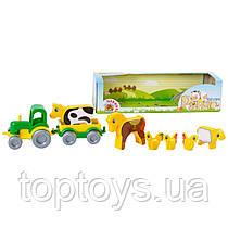 Ігровий набір Wader Kid cars Ранчо (39280)