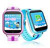 Дитячі розумні годинник Smart Baby Watch q100 gw200s сині, фото 4