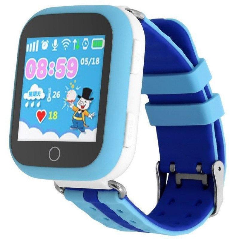Дитячі розумні годинник Smart Baby Watch q100 gw200s сині