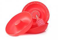 Форма для приготовления гигантского пончика  Red