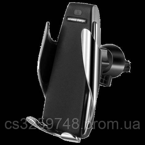 Автомобильный держатель Smart Sensor S5 UTM c беспроводной зарядкой, фото 2