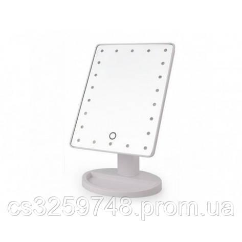 Зеркало с подсветкой LED 22 White, фото 2