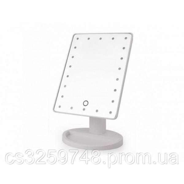 Зеркало с подсветкой LED 22 White