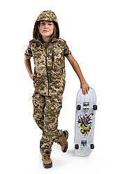 Жилет городской стиль милитари детский для мальчиков камуфляж Пиксель