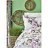Постельное белье Karaca Home ранфорс - Elsa pembe 2020-1 розовый евро, фото 2