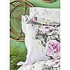 Постельное белье Karaca Home ранфорс - Elsa pembe 2020-1 розовый евро, фото 3