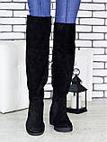 Ботфорты женские замшевые Sollorini, фото 3