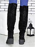 Ботфорты женские замшевые Sollorini, фото 5
