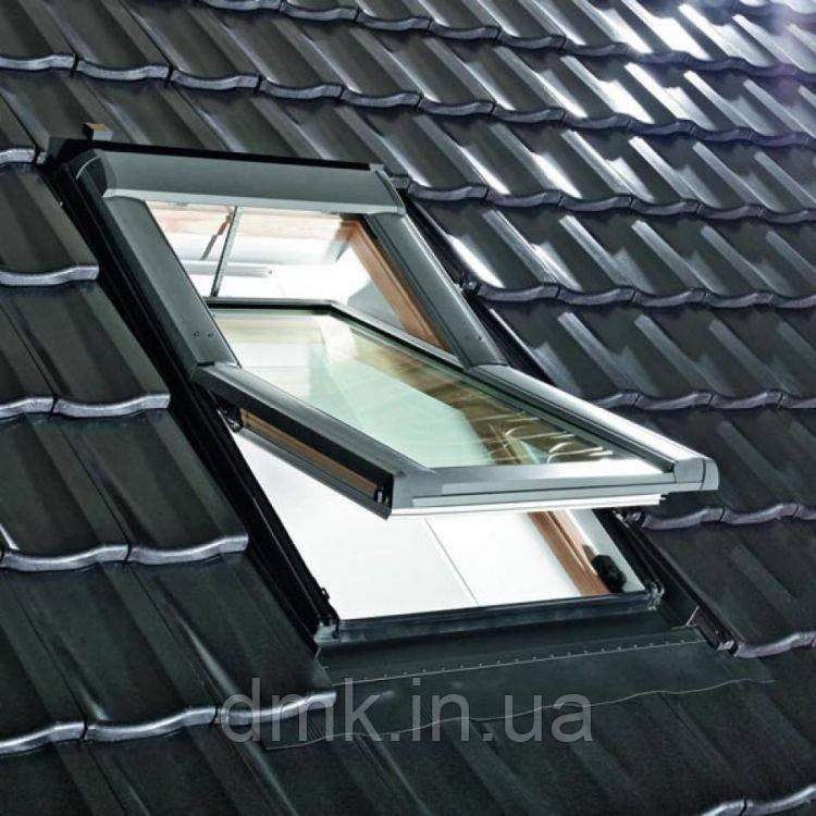 Вікно мансардне Designo WDT R69 P H N WD AL 09/11 E