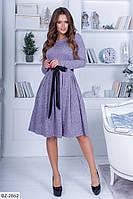 Ангоровое молодежное платье норма арт 1031