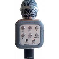 Беспроводной караоке микрофон WS1818 с чехлом - черный
