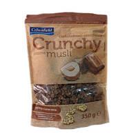 Мюсли Кранчи Crunchy Crownfield с орехами и шоколадом