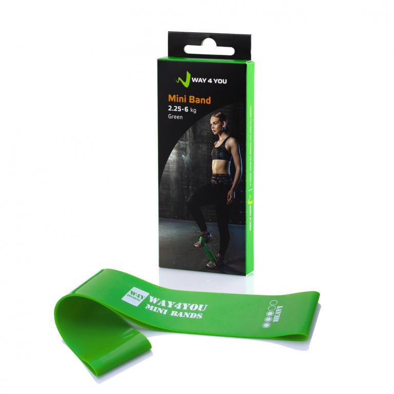 Фитнес резинка для фитнеса Way4you Mini Bands (Heavy - 6 кг)