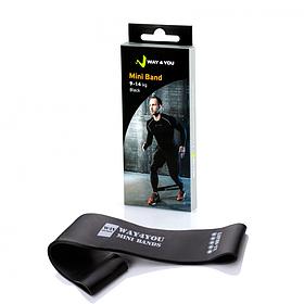 Фитнес резинка для фитнеса Way4you Mini Bands (XX-Heavy - 14 кг)