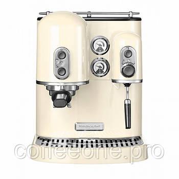 Кофемашина KitchenAid Artisan 5KES2102EAC Espresso кремовая восстановленные