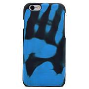Термо чехол на Iphone 5 / 5S / SE Black (blue)