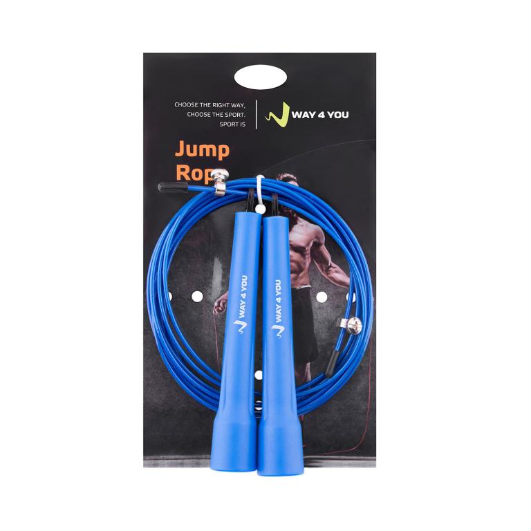 Скоростная Crossfit Скакалка Ultra Speed 2 (синяя)