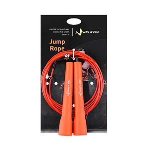 Скоростная Crossfit Скакалка Ultra Speed 2 (оранжевая), фото 2