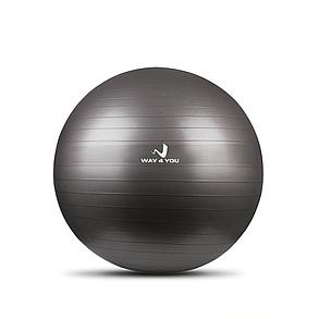 Мяч для Фитнеса Anti-Burst (Фитбол) 75см Way4you Серый, фото 2