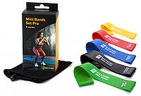 Набор фитнес резинок для фитнеса Way4you Set Pro Original (5шт.)